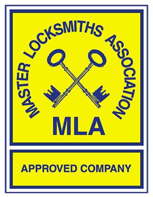 MLA Approved Company Locksmith Logo
