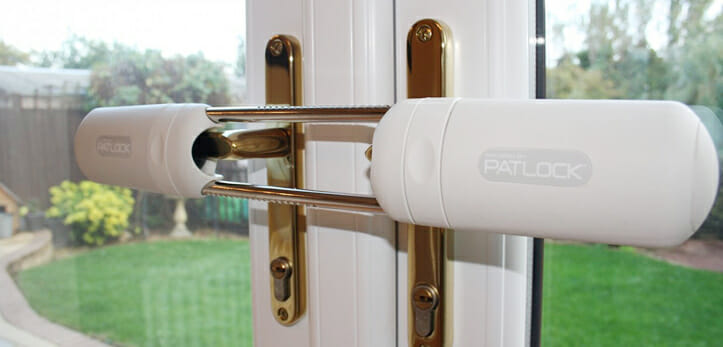 Patlock on French Doors
