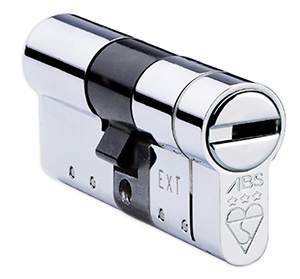 Anti Snap Euro Lock Cylinder - ABS Chrome MK3 Cylinder