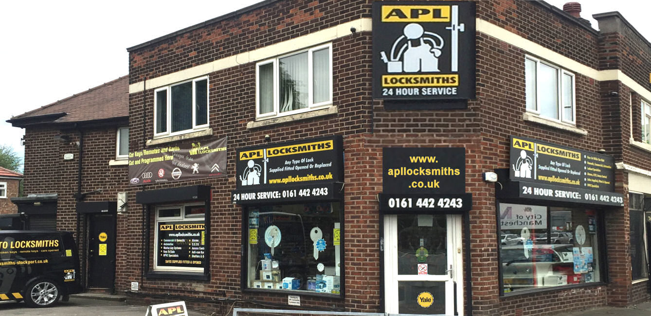 APL Locksmiths - Stockport Locksmith Shop
