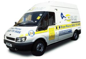 Actfast Emergency Locksmith Van