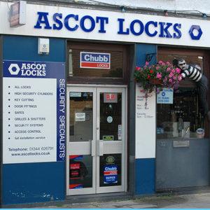 Ascot Locks Shop Front Locksmith Store