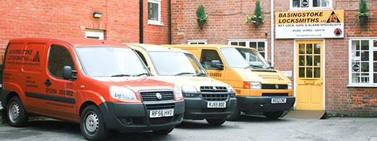 Basingstoke Locksmiths Van