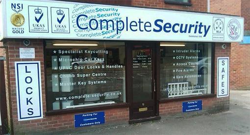Complete Security Locksmith Shop