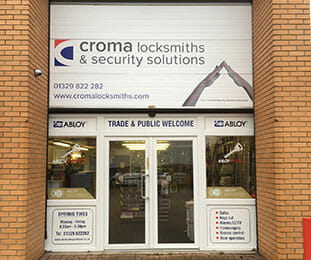 Croma Locksmiths Fareham Shop image