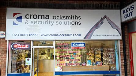 Croma Locksmiths Southampton Shop image