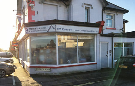 Croma Locksmiths Shirley, Southampton Shop image
