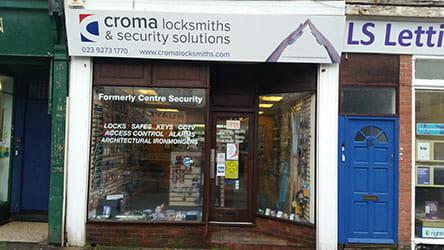 Croma Locksmiths Portsmouth Shop image