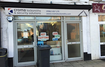 Croma Locksmiths Winchester Shop image