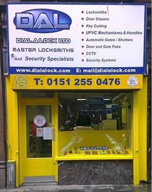 Dial a Lock Liverpool Locksmith Shop