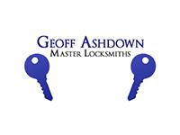 Geoff Ashdown Master Locksmith Logo