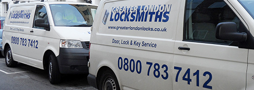 Greater London Locksmiths Van Image