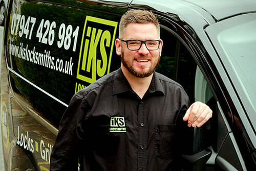 Martin Slane from IKS Locksmiths - covering Barnet