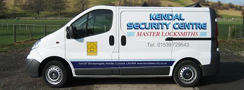 Kendal Security Centre Locksmith Van