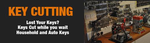 Key Cutting Banner
