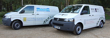 Southern Stronghold Locksmith Vans
