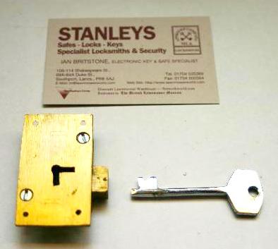 Key and Lock Stanleys Locksmith Southport