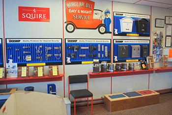 The Lockshop Blackpool Inside the Shop