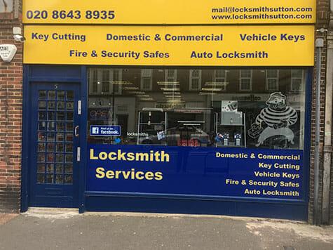 The Locksmiths Shop Ltd - Shop Front in Cheam, Sutton image
