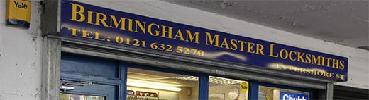 Birmingham Master Locksmiths Shop