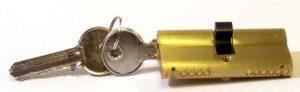 A euro lock cylnder