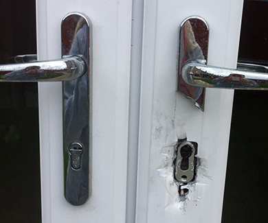 Burglary fail anti snap lock cylinder
