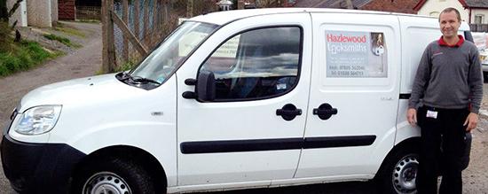 Hazlewood Locksmiths Van