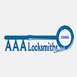 AAA Locksmiths Company Logo Image
