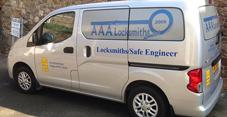AAA Locksmiths Van