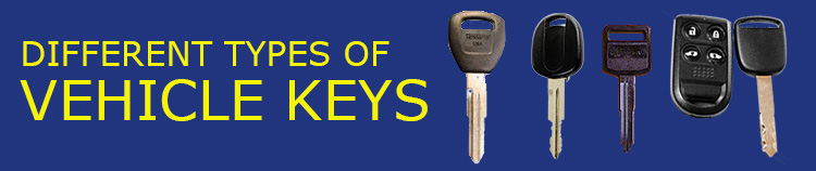 Vehicle Key Types Banner