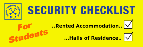 Security Advice & Tips For Students In Accommodation