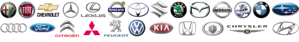 Car key logos