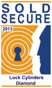 Sold Secure Diamond Lock Cylinder 2013 Logo