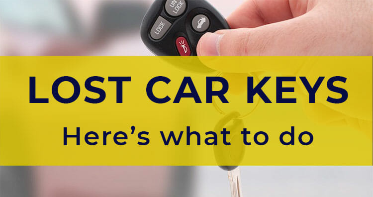 Lost My Car Keys No Spare What To Do Replace Car Keys Fast
