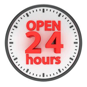 24 Hour Emergency Locksmith Logo