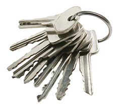 Image of bunch of keys