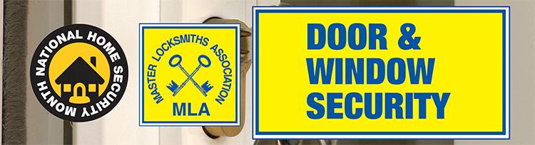 Door and Window Security banner for NHSM