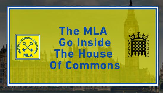 The MLA Go Inside the House ofCommons