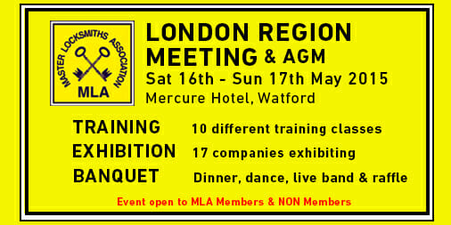 MLA London Region Event includes Training & Exhibition (2015)