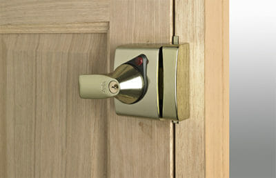 A Yale Nightlatch Type Lock