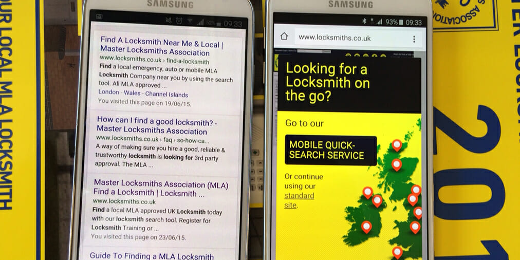 The MLA Launches Mobile Friendly Version of 'Find a Locksmith'Site