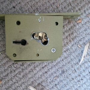 Drilled Union 3G115 5 Lever Mortice Deadlock