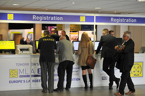 MLA Expo Registration desk