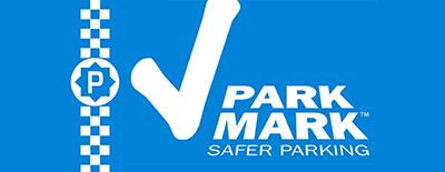 Park Mark safe motorcycle parking logo