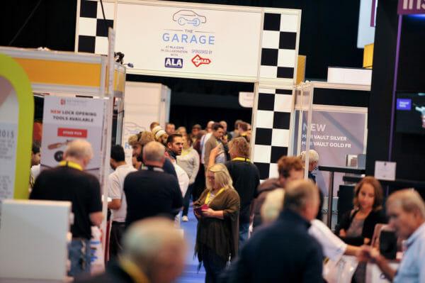 The Garage - Busy Auto Locksmith Exhibition