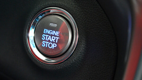 Keyless car entry ignition
