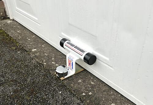Garage Door Defender fitted on Garage Door