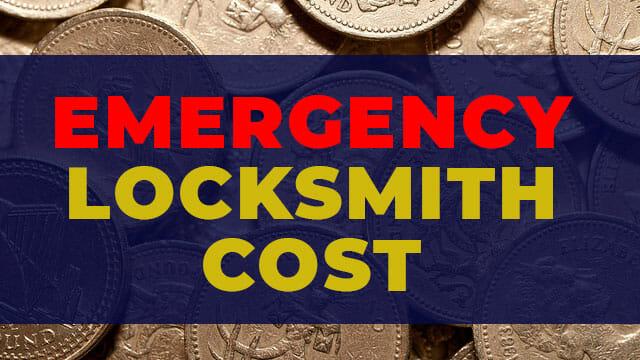 emergency locksmith cost - the price of hiring a emergency locksmith