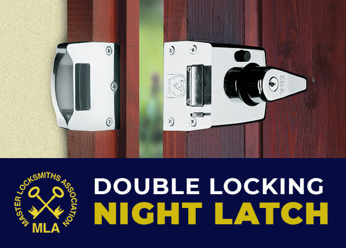 ERA Double Locking Night Latch