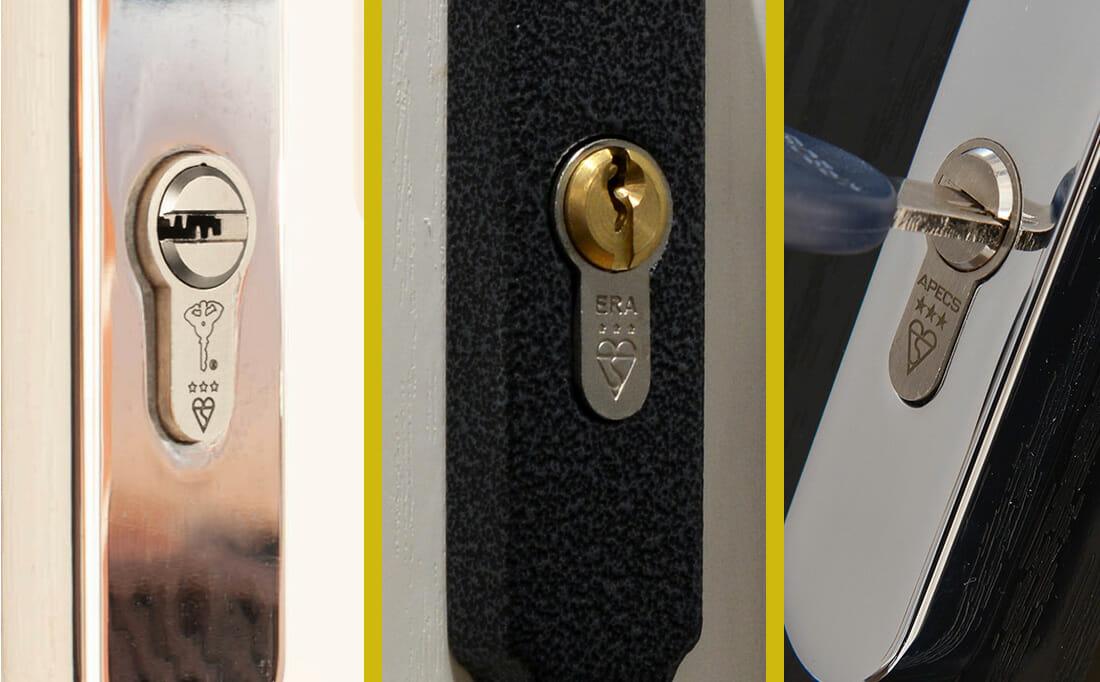 Euro Cylinders Locks on doors